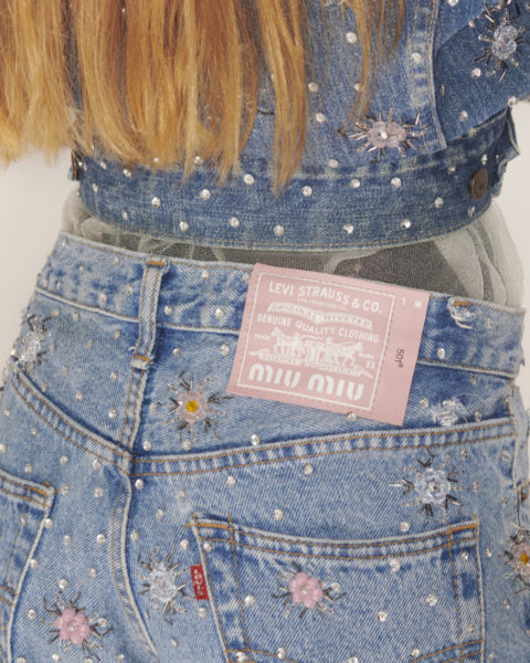 Upcycled by Miu Miu Reworks Pre-Liked Levis + Extra Style Information