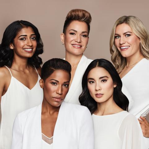 The Estée Lauder Shades of Canada Marketing campaign Stars Canadian Athletes