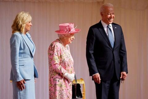 jill biden queen elizabeth