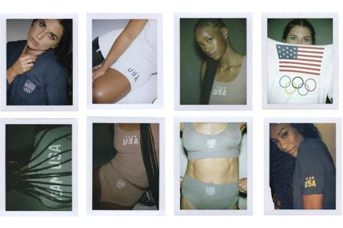 kim kardashian skims olympics collection
