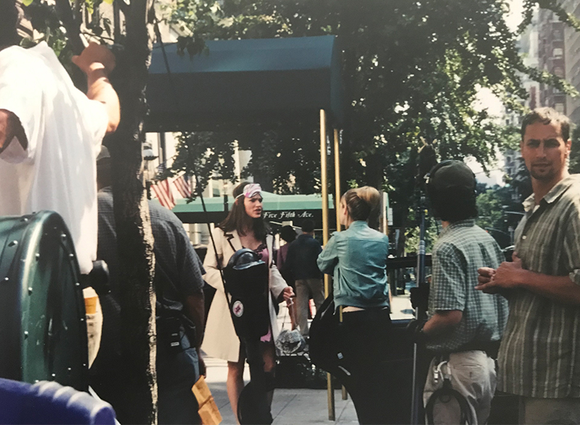 , as seen in my family's New York City photo album