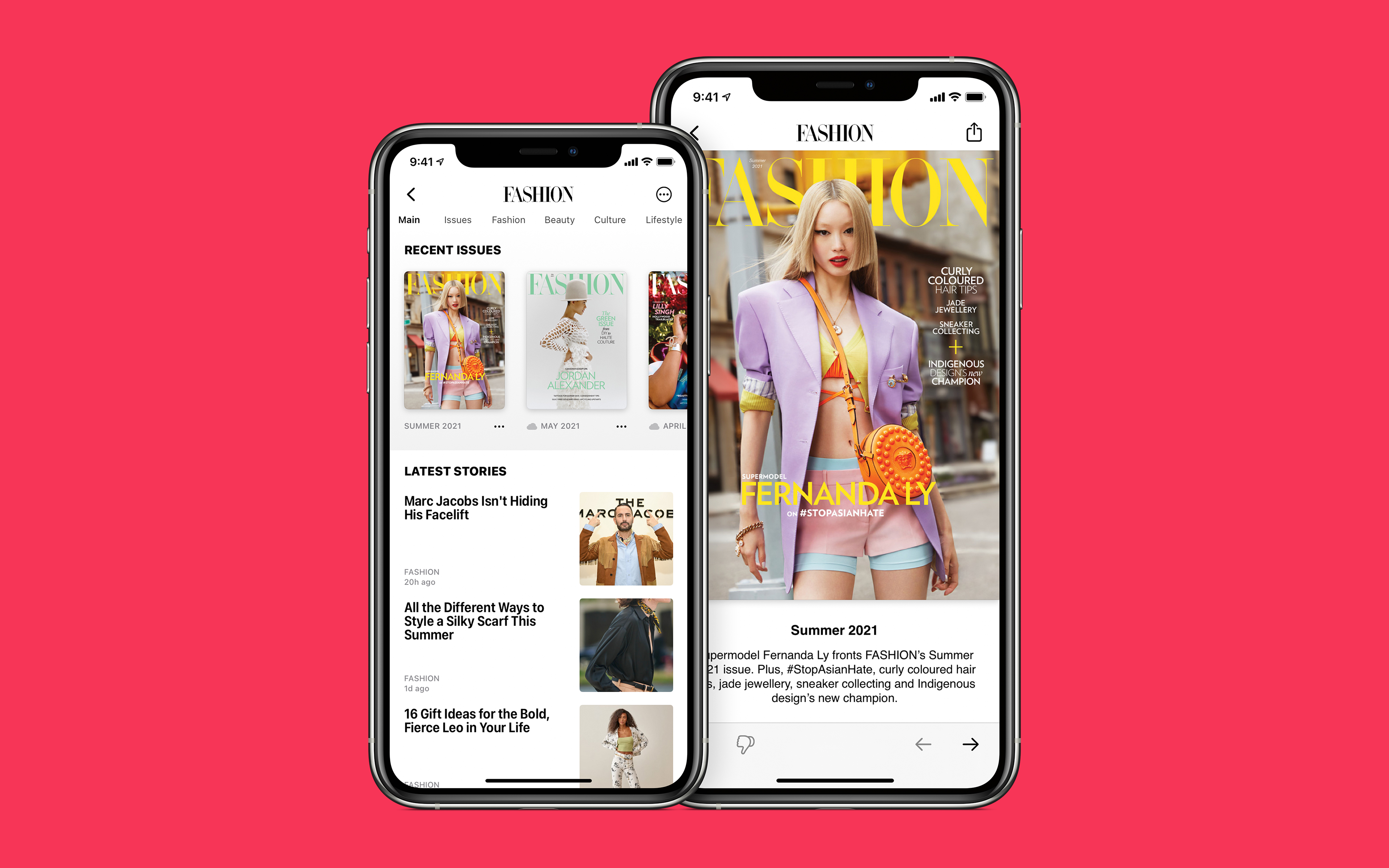 FASHION Magazine is now available on Apple News+