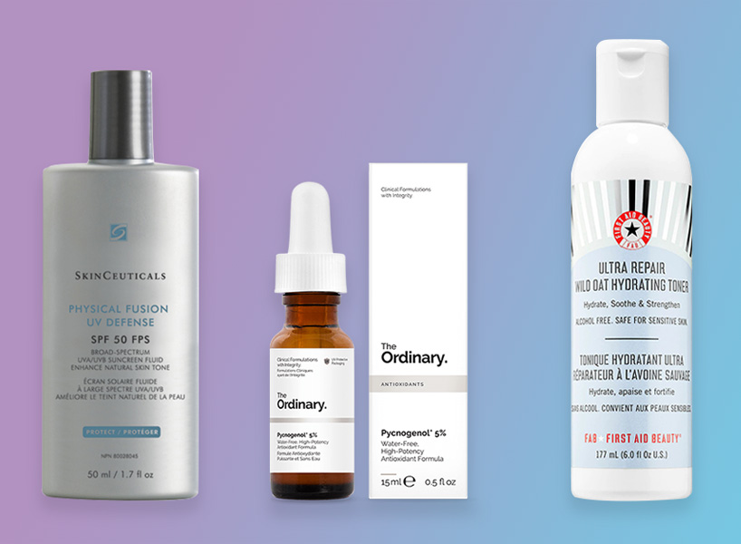 Taking care of dry acne-prone skin requires a lot of trial and error, but I've finally figured out my routine.