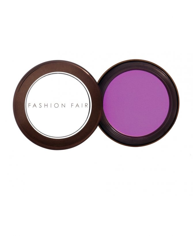 black-owned beauty: fashion fair purple eye-shadow