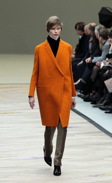 Celine Orange Coat