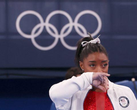 Simone Biles Olympic anxiety
