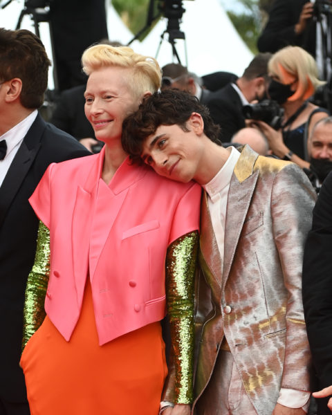 Timothée Chalamet and Tilda Swinton Gained the Cannes Movie Competition
