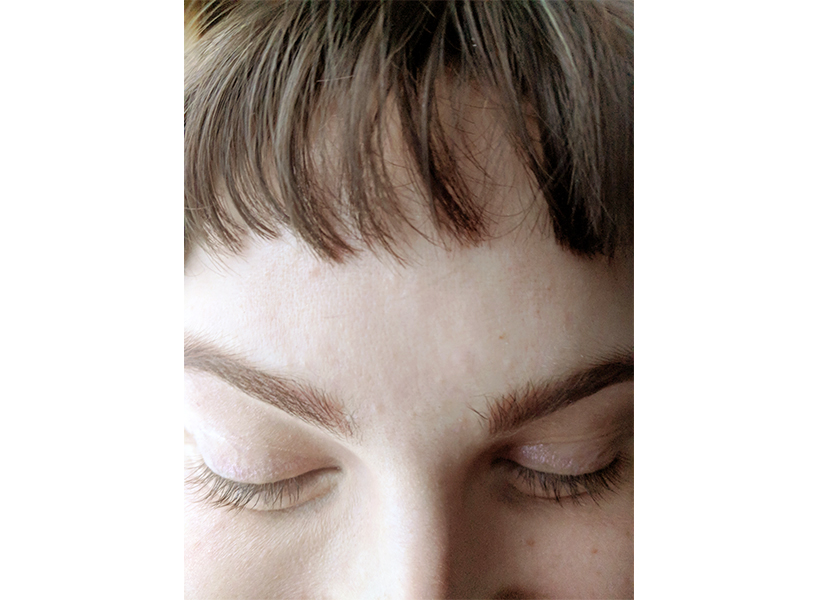 After their microblading faded, Ratchford was left with orange-y