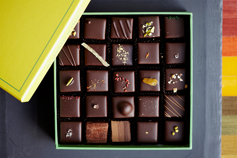 Box of 25 Assorted Chocolates from Les Chocolats de Chloé in Montreal (Photo: Charles Briand)