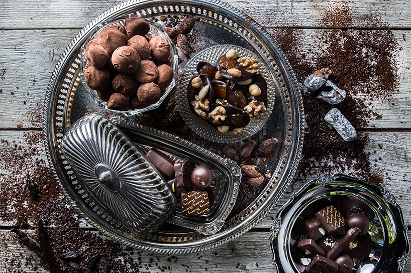 Assorted Truffles and Chocolates from Thierry Chocolates in Vancouver (Photo: Leila Kwok Photography)