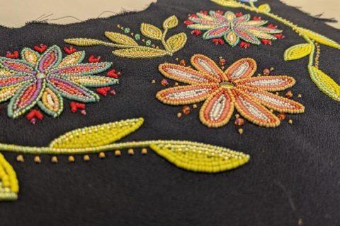 Indigenous beadwork for Mary Simon inauguration