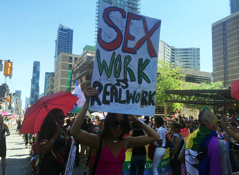 (Photo: Courtesy of Maggie's Toronto Sex Workers Action Project)