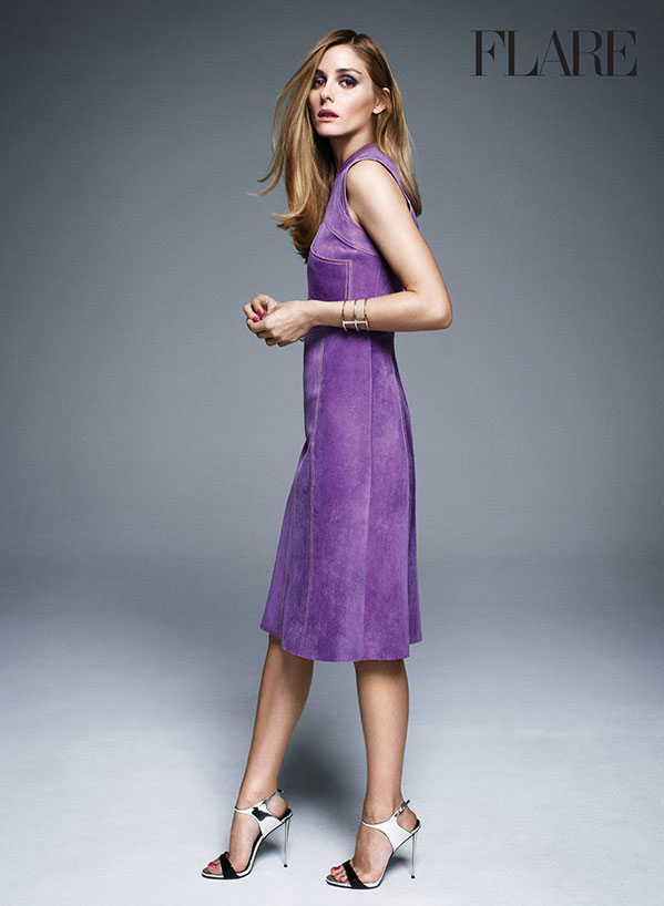 Dress, price upon request, Derek Lam. Bracelet, Jennifer Fisher. Shoes, Giuseppe Zanotti.