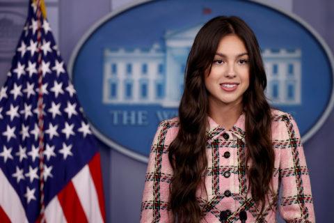Olivia Rodrigo White House Press Conference