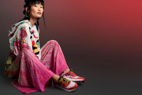 Colourful sneaker collaboration