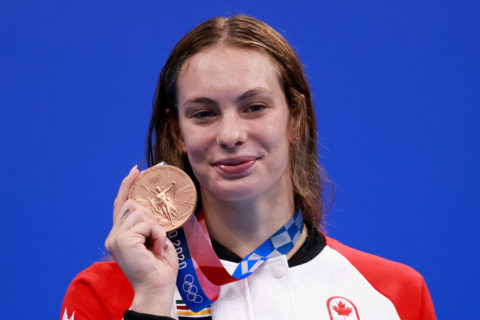 penny oleksiak most decorated