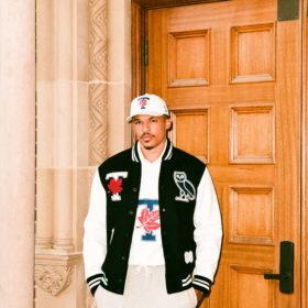 Drake OVO University of Toronto varsity jacket