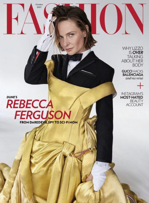 Rebecca Ferguson Dune: FASHION Magazine October 2021 Cover
