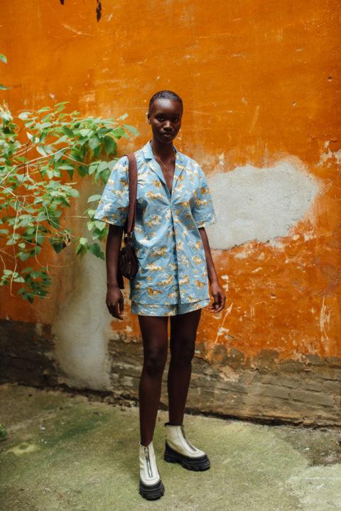 patterned shirts women's fashion copenhagen