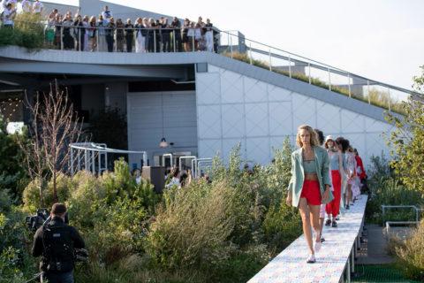 Ganni's collection at Copenhagen Fashion Week spring 2022