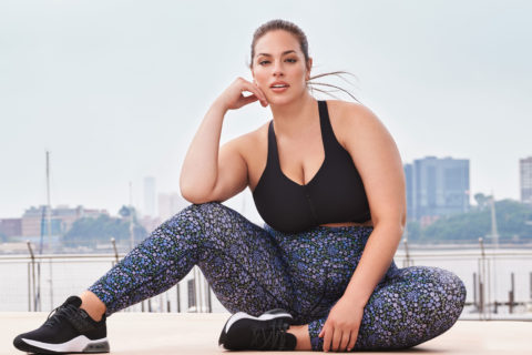 Ashley Graham in Knix Active