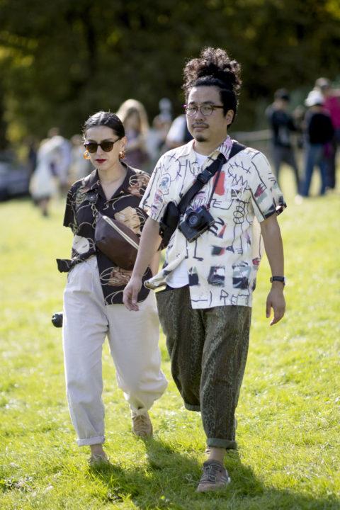 patterned shirts men's fashion london
