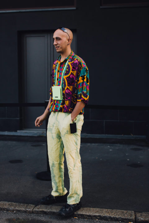 patterned shirts men's fashion milan