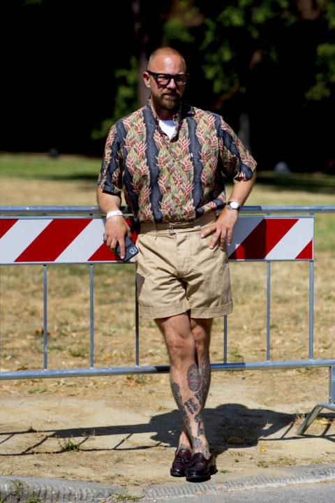 patterned shirts men's fashion pitti