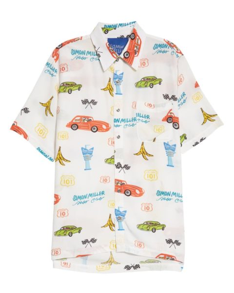 Cruise Through the Rest of Summer in These Billowy Patterned Shirts