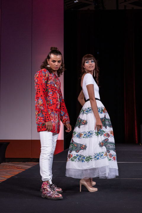 Delina White Indigenous designer