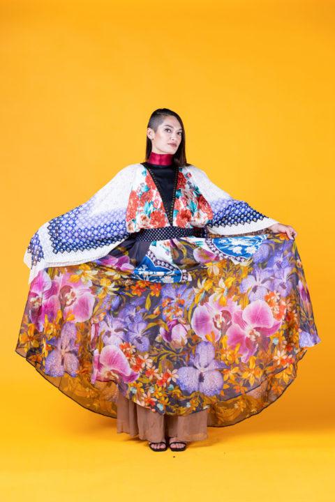 Jamie Okuma colourful dress