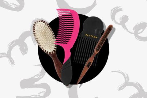 detangling brushes for curly hair