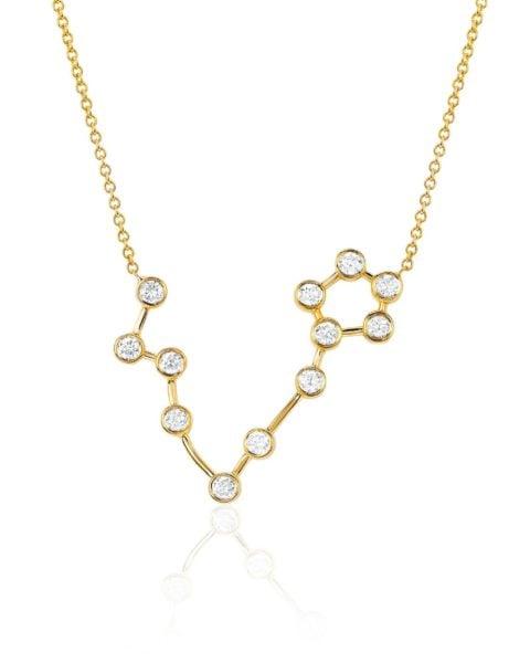 zodiac necklace pisces