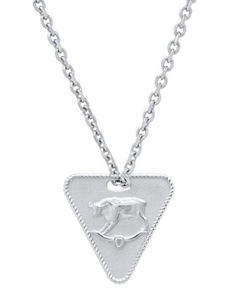 zodiac necklace taurus