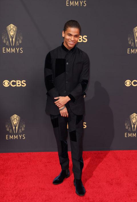 2021 Emmys Red Carpet: D'Pharaoh Woon-A-Tai