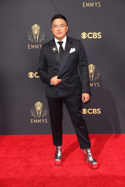 2021 Emmys Red Carpet: Bowen Yang