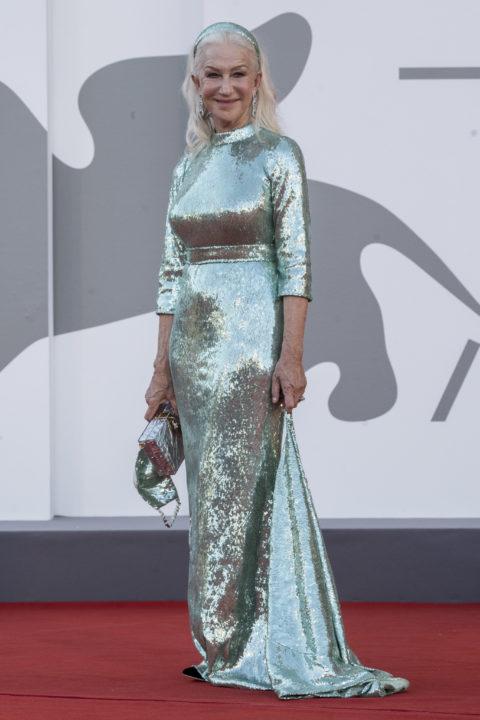 Helen Mirren at the 2021 Venice Film Festival