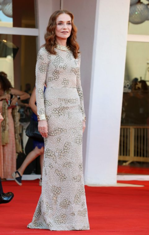 Isabelle Huppert 2021 Venice Red Carpet