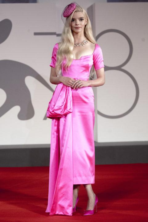 Anya Taylor-Joy Venice Red Carpet 2021
