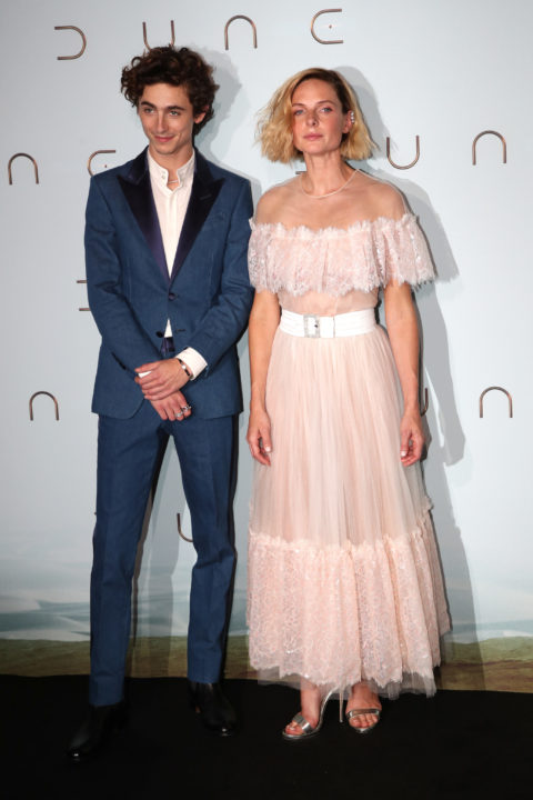 Timothee Chalamet and Rebecca Ferguson Venice Red Carpet 2021