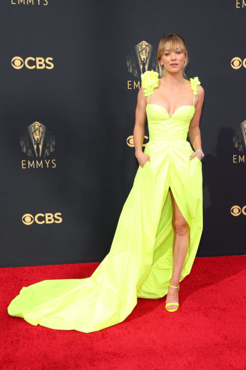 2021 Emmys Red Carpet: Kayley Cuoco