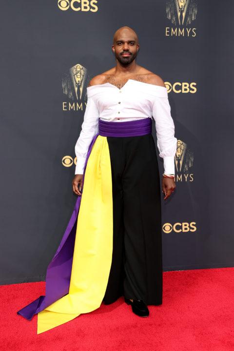 2021 Emmys Red Carpet: Carl Clemons-Hopkin