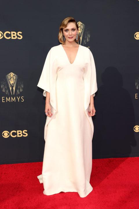 2021 Emmys Red Carpet: Elizabeth Olsen
