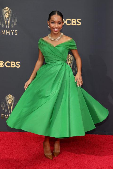 2021 Emmys Red Carpet: Yara Shahidi