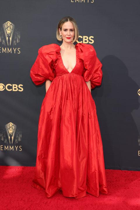 2021 Emmys Red Carpet: Sarah Paulson
