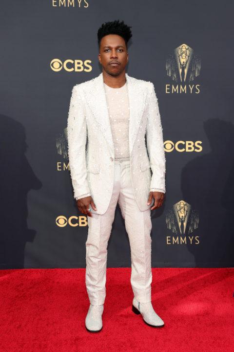 2021 Emmys Red Carpet: Leslie Odom Jr.