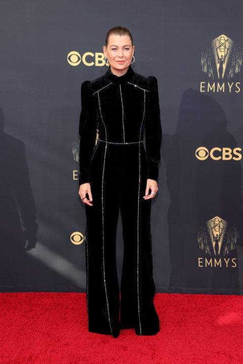 2021 Emmys Red Carpet: Ellen Pompeo