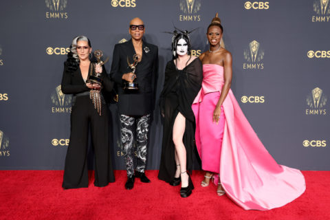 2021 Emmys Red Carpet: Cast of RuPaul's Drag Race