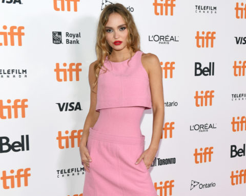 Lily-Rose Depp at TIFF in Chanel