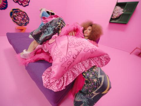 IKEA x Zandra Rhodes pillow